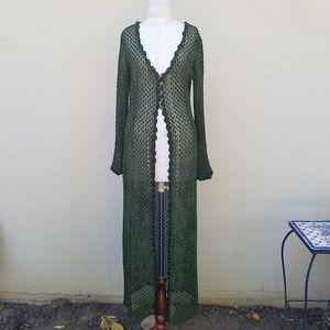 Gothic green goddess garment!!!